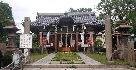 蒲田神社の拝殿